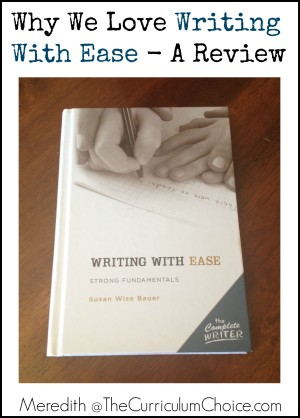 Writing With Ease Review