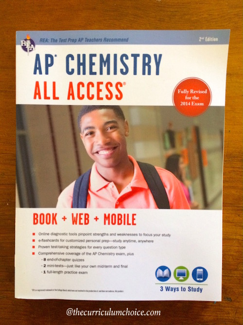 AP Chemistry All Access Test Prep from REA