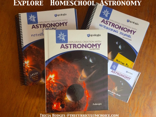 Explore Creation with Astronomy - Review at The Curriculum Choice