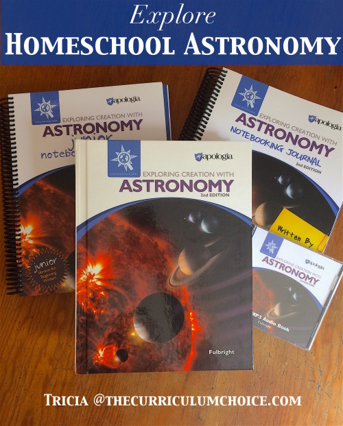 Explore Homeschool Astronomy - a creation based textbook for K-6th grades