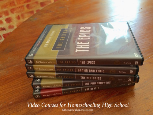 Great Video Courses for Homeschool High School