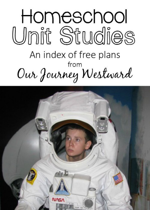 Unit studies have been so wonderful in our homeschool!