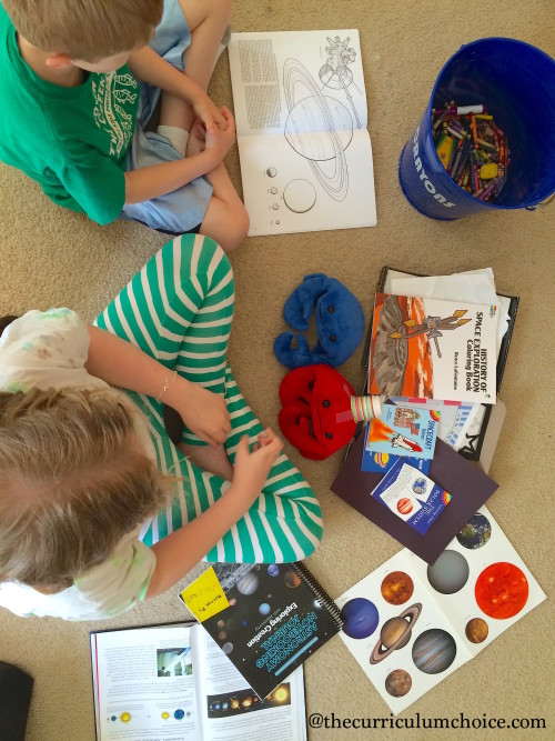 How we use Apologia Astronomy in our homeschool
