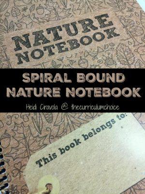 Spiral Bound Nature Notebook