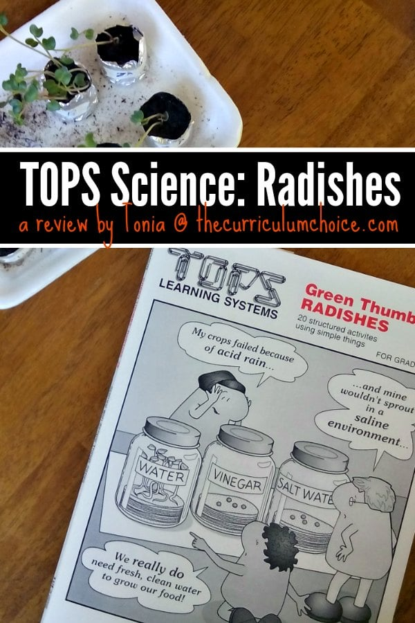 TOPS Science: Radishes - Teach Science with Simple Things