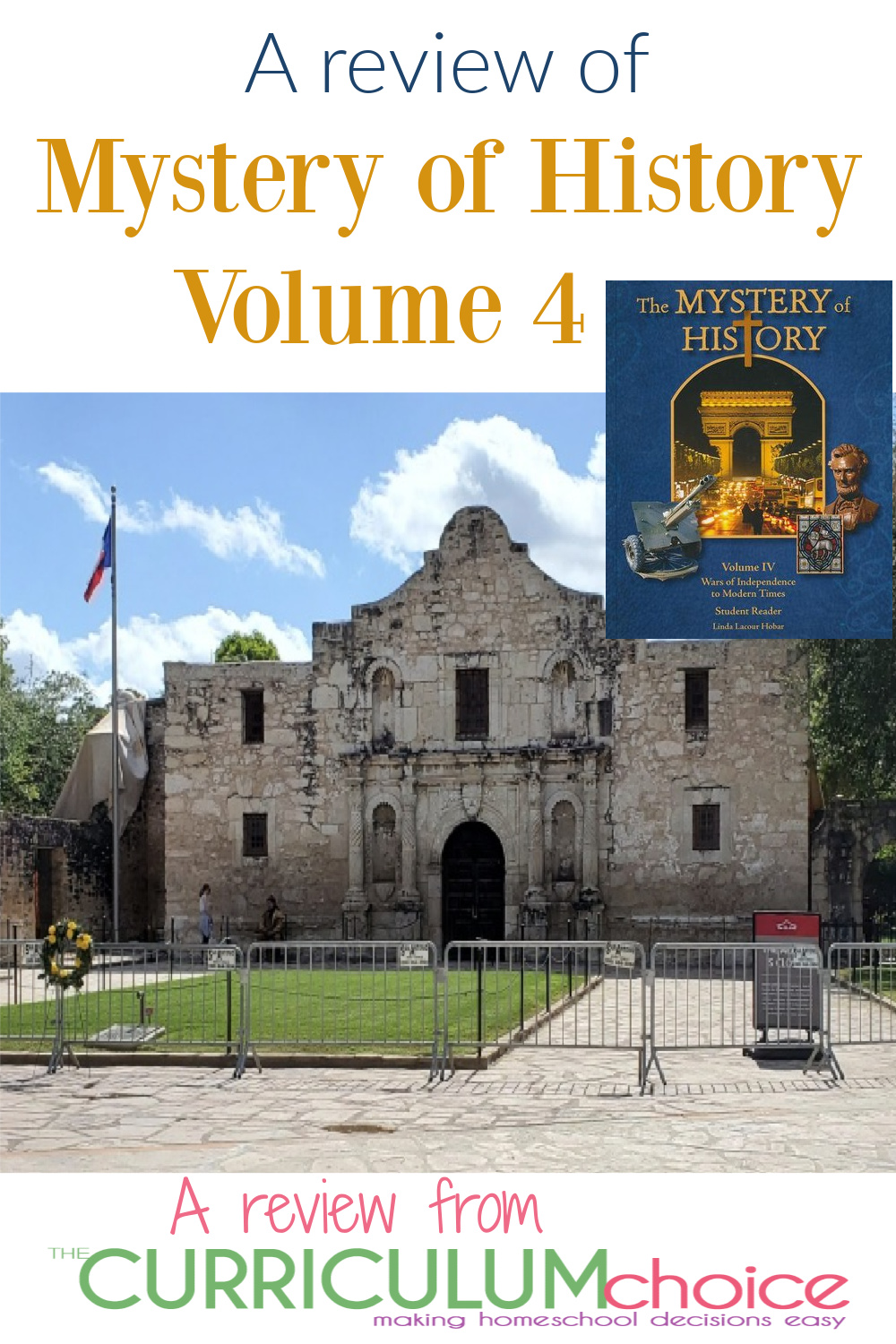 Mystery of History Volume 4 is a complete, chronological, Christian world history curriculum that spans three centuries from 1708 to 2014.