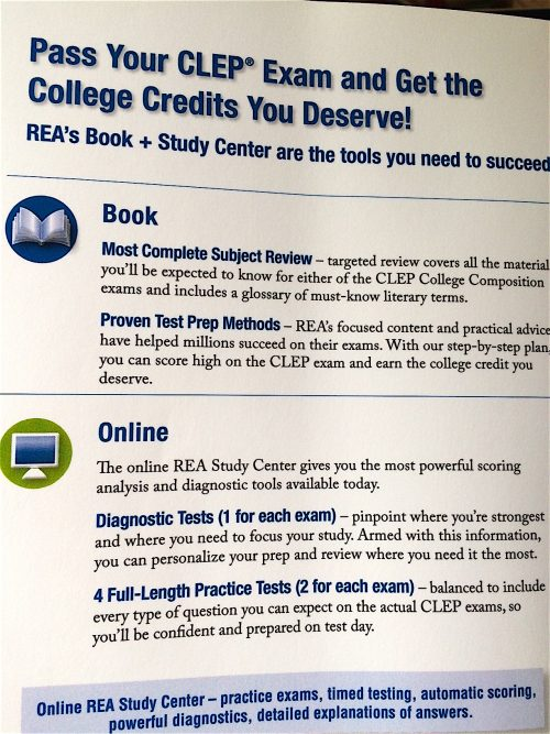 CLEP Exams for College Credit