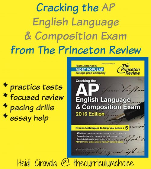 Cracking the AP English Language & Composition Exam from The Princeton Review