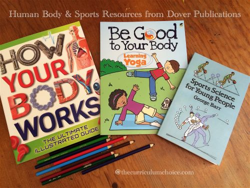 Human Body:Sports Homeschool Study with Dover Publications