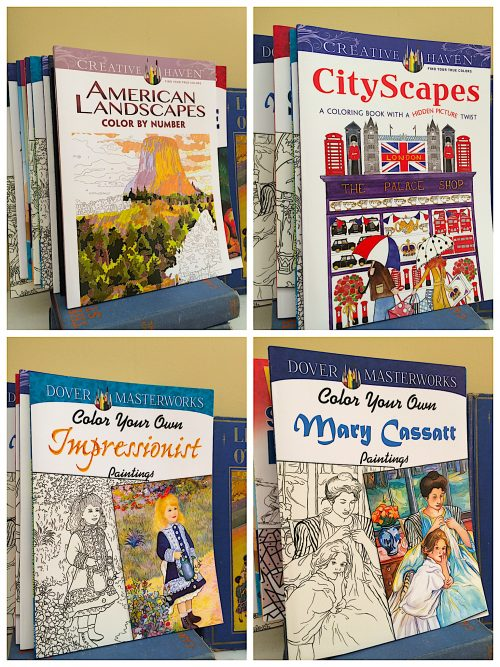 Coloring Book Series by Dover Publications