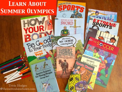 Summer Games Coloring Books from Dover Publications