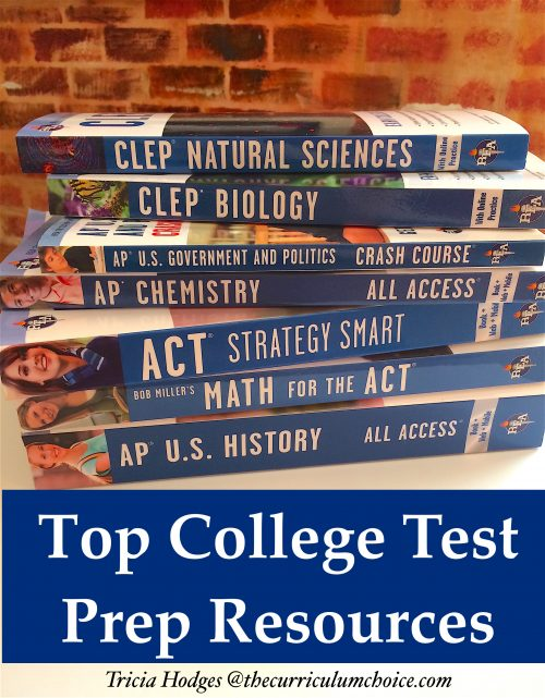 Top College Test Prep Resources - ACT, SAT, AP and CLEP