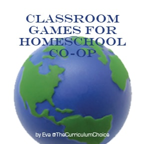 Games for the Classroom or Homeschool Co-op