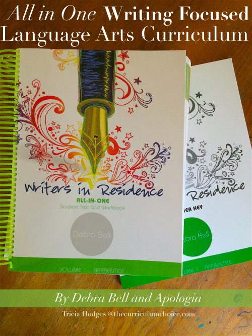 Writers in Residence - All in One Writing Focused Language Arts Curriculum