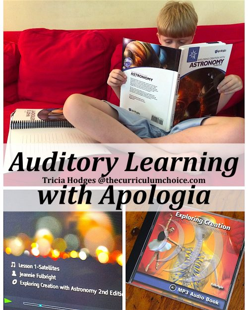 Auditory Learning With Apologia