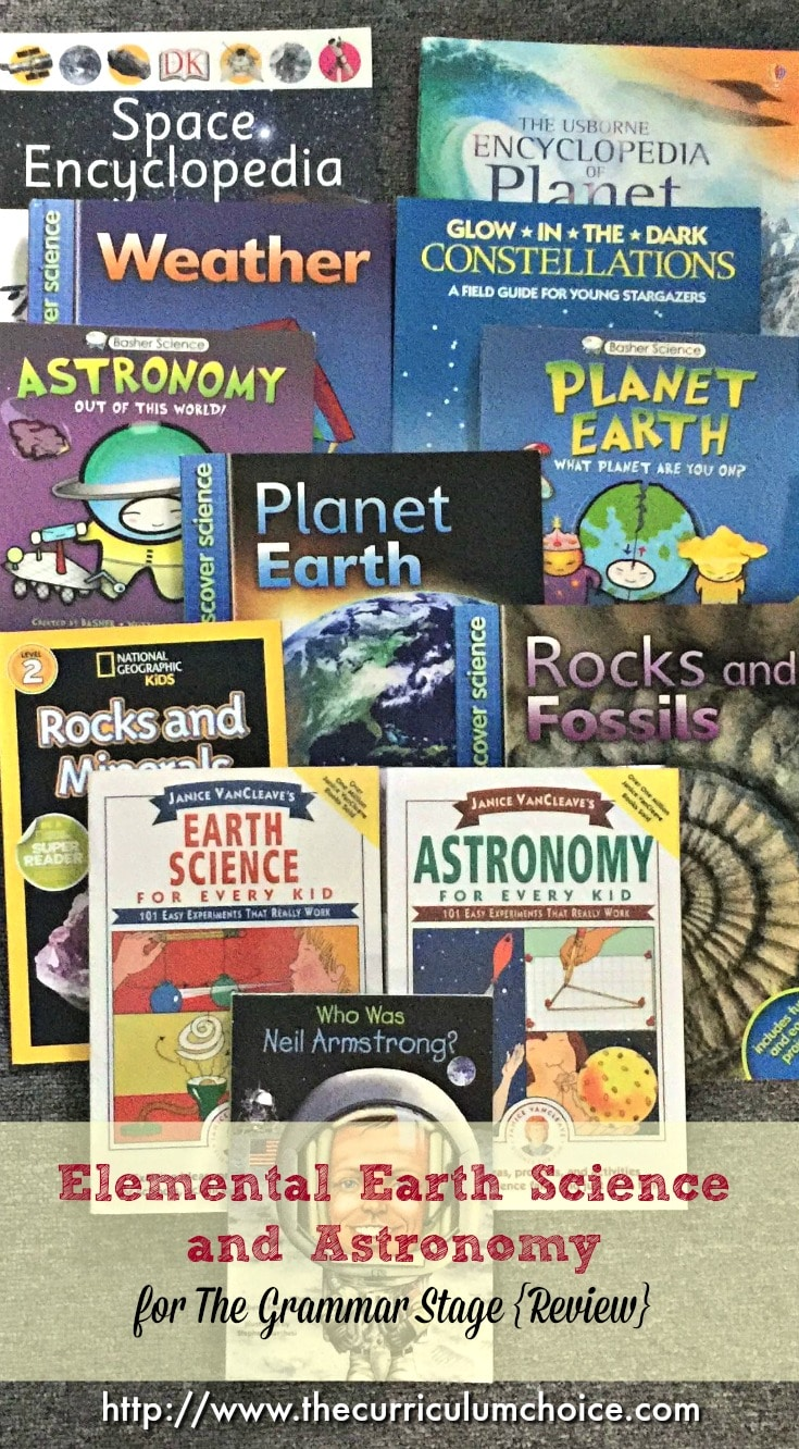 Elemental Earth Science and Astronomy for The Grammar Stage {Review}