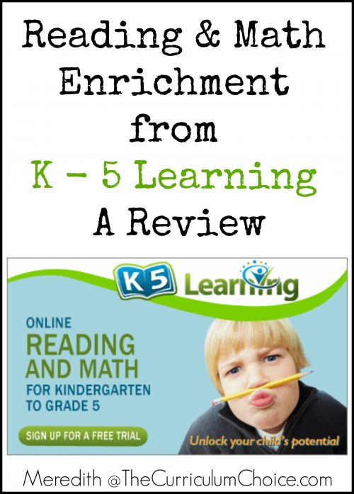 K - 5 Learning Review