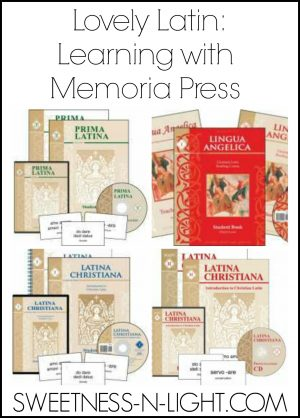 Lovely Latin: Learning with Memoria Press