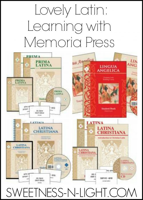 Latin-with-Memoria-Press