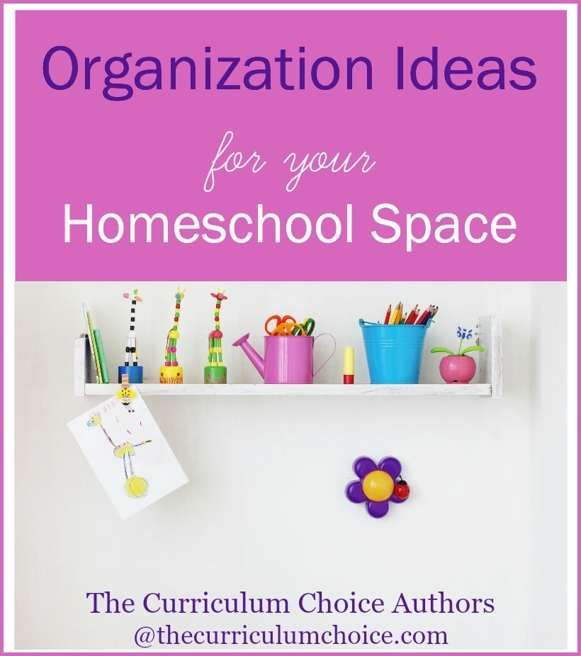 Homeschool Room Ideas Small Spaces: Organization Ideas For Your Homeschool Space