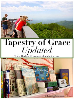 A Tapestry of Grace update and extensive review on how this curriculum meets learning styles, offers rich learning on all levels and makes teaching easy for mom!