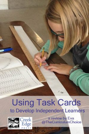 Using Creek Edge Press Task Cards to Develop Independent Learners