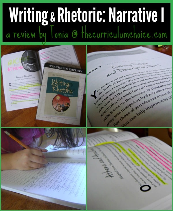 writing and rhetoric narrative i