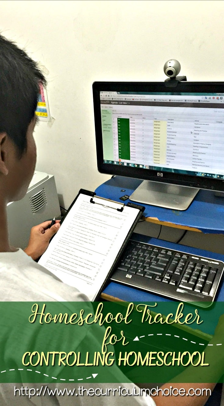Homeschool Tracker for Controlling Homeschool