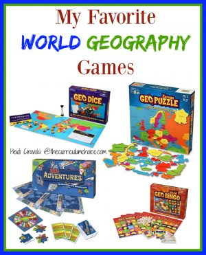 My Favorite World Geography Games