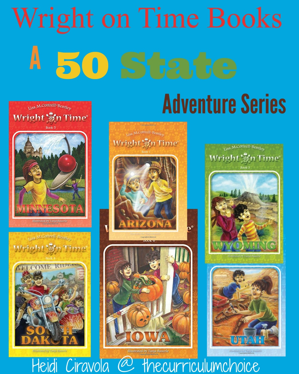 Write on Time Books - A 50 State Adventure from The Curriculum Choice