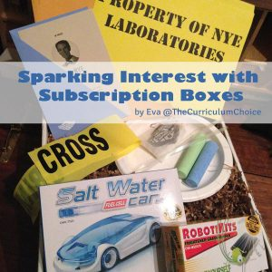 Sparking Interest with Subscription Boxes