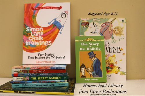 Homeschool Library from Dover Publications Ages 8-11