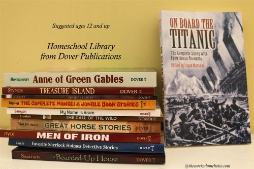Homeschool Library ages 12 and up