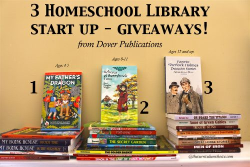 Homeschool Library Start Up Giveaway - from Dover Publications