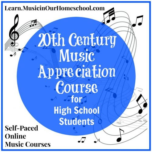 20th Century Music Appreciation Course
