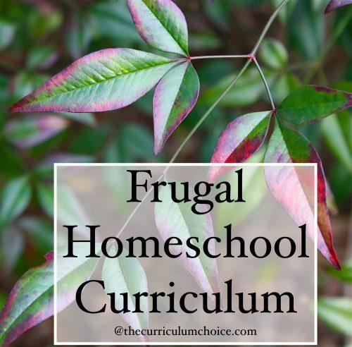 Frugal Homeschool Curriculum - on sale!