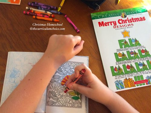 Christmas Homeschool