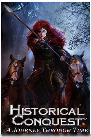 Learning history while playing cards. Historical Conquest - a card game that mixes the similarities of Yu Gi Oh {card game} and Risk {strategic board game}.