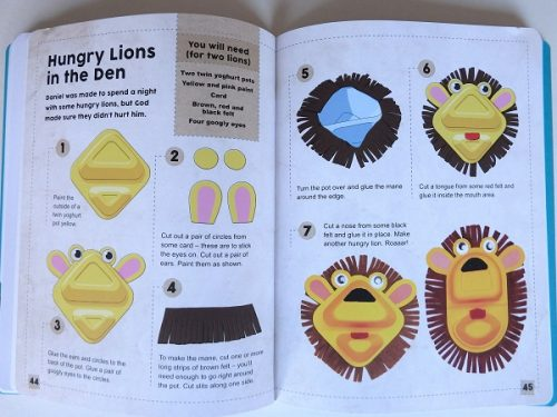 The Big Book of Bible Stories to Make - Stunning book for little ones reviewed on The Curriculum Choice
