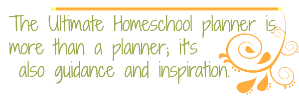 The Ultimate Homeschool Planner from Apologia is more than a planner; it's also guidance and inspiration.