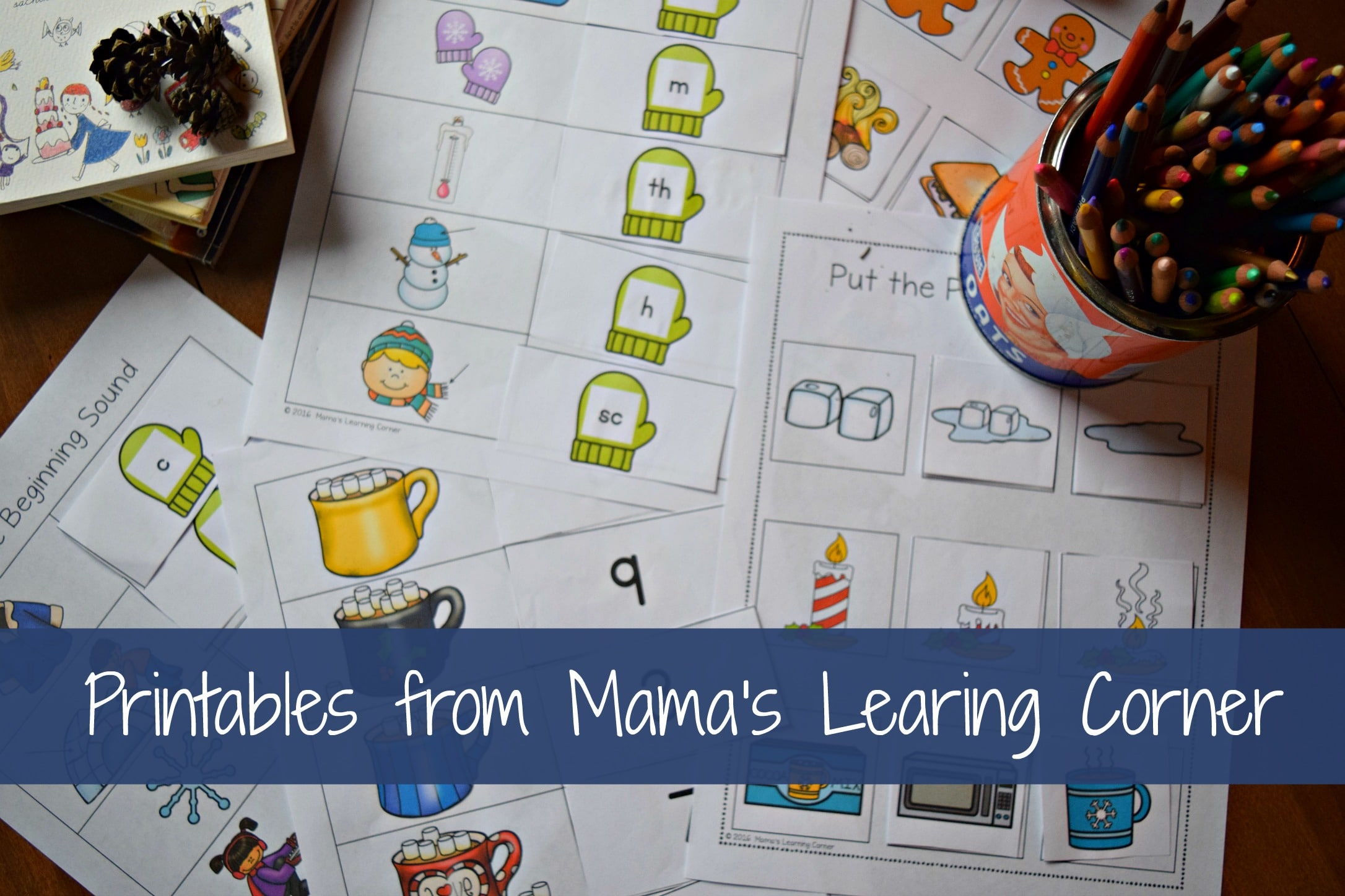 Mama's Learning Corner is our go-to place for finding early years printables.  The worksheets are gentle introductions to the world of formal learning.