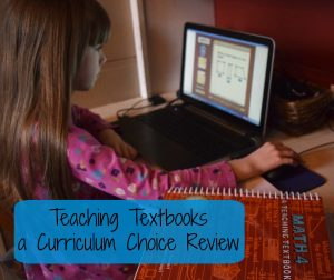 Peace and Progress with Teaching Textbooks