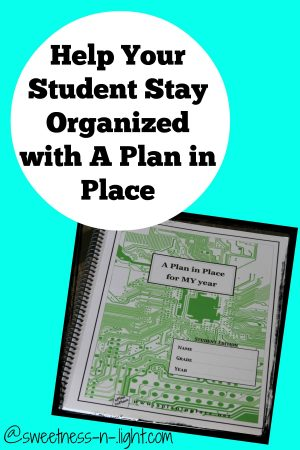 Help Your Teens Stay Organized with A Plan in Place