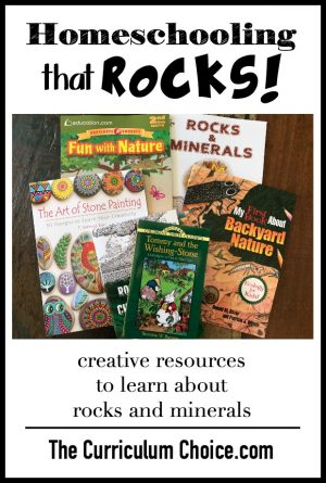 Dover helps you have a homeschool that ROCKS - books to make learning about rocks and minerals fun!