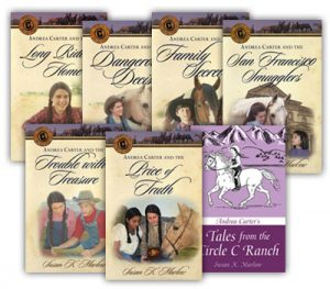 Susan K. Marlow's Historical Fiction - exciting and wholesome books for your family to enjoy and, unlike many series, they remain interesting.