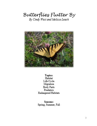 Butterflies Flutter By Review on Curriculum Choice