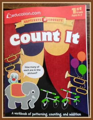 If you are looking for a well done frugal primary math workbook, my family recommends Count It by Dover Publications.
