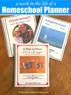 A Week in the Life of a Homeschool Planner