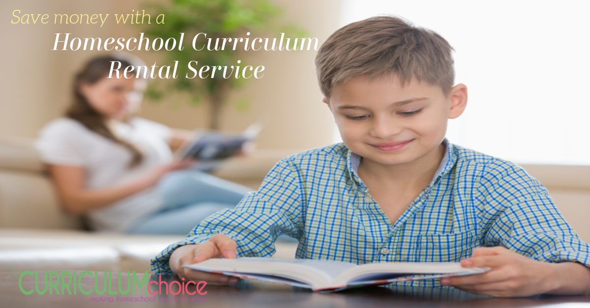 Homeschool Curriculum Rental Service is a great way to cut curriculum expenses! AND Yellow House Book Rental is run by a homeschooling family!