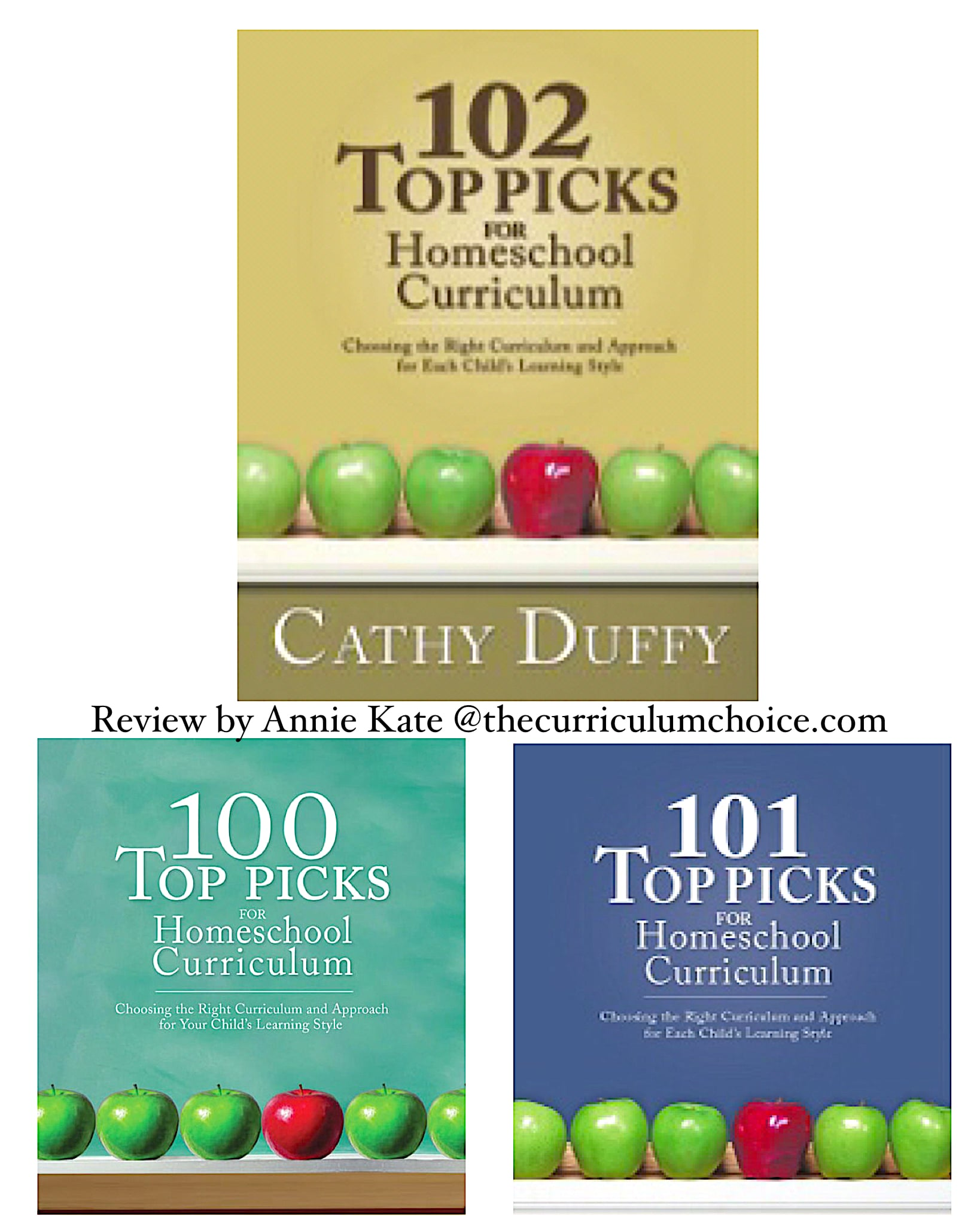 102 Top Picks for Homeschool Curriculum by Cathy Duffy - The Curriculum  Choice